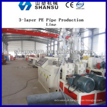 Extrusão de tubo de plástico máquina de produção de tubos máquina / plástico