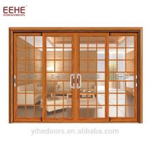 Aluminium-Schiebetür im Wohnzimmer-Design-Design mit automatischer Glasschiebefunktion