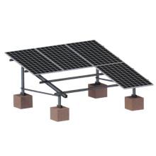 кронштейны для алюминиевых панелей солнечных батарей на земле и плоской крыше