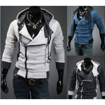 Wholesale Men's Fashion Slim Fit Casual Pullover Hoodies