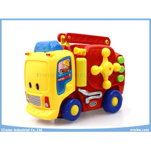 Electric Fire Engine Educational Toys for Kids