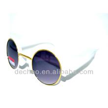2014 Großhandel Frauen Sonnenbrillen für Runde Rahmen