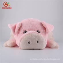 Juguete de felpa de felpa de felpa de juguete de cerdo de ODM 54cm para niños