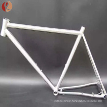 Handcraft made Snow Titanium fat bike frame with factory price