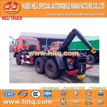DONGFENG 6x4 16m3 gancho levantar basura camión 210hp profesional producción garantía de calidad fábrica directa