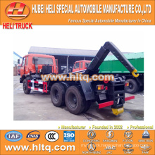 DONGFENG 6x4 16m3 hook lift refuse truck 210hp professional production quality assurance factory direct