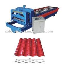 Stahldachplatte, die Maschine herstellt