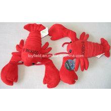 Cartoon Lobster País da vida real Stuffed Toy Plush