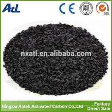 Carbono activado bajo en yodo 300 mg / g carbono del carbón