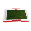 Indoor Dog Puppy Potty Training Fence Tray Pad