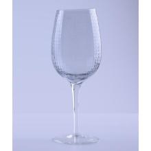 Gittermuster Klarglas Wein Set