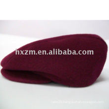 red fashion cap/beret cap in 100% cotton