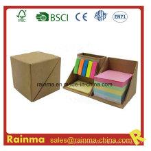 Eco Memo Pad mit Karton Kugelschreiber