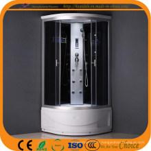 Cabine de douche en verre trempé de 4 mm (ADL-825)