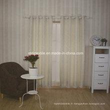 Hot Design 2016 Tissu en tissu de rideau en polyester