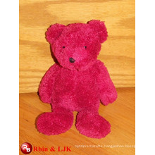 ICTI Audited Factory High Quality Custom promotional Red teddy bear plush toy