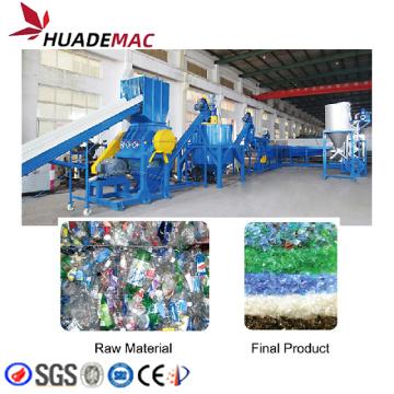 Machine de ligne de lavage et de recyclage de bouteilles en PET