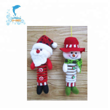 pequeño juguete de peluche de Navidad de felpa decorativa