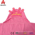 super soft 100% cotton knitted newborn baby hooded blanket