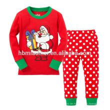 Großhandelskinderpyjamas stellt Nachtwäsche-Kinderweihnachtspyjamas ein
