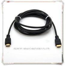 Câble HDMI PREMIUM pour HDTV Complètement compatible HDCP pour fournir le plus haut niveau de qualité du signal