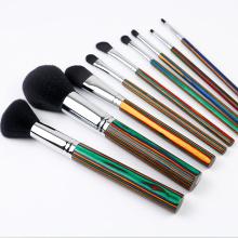 Custom LOGO special wood Foundation Makeup Brush Set