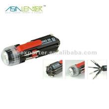 Destornillador multifunción, destornillador phillips conjunto con linterna LED