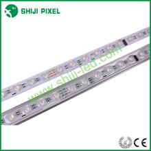 48leds / 16pixels / m iluminación exterior smd5050 RGB 12 v led barra rígida