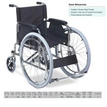 """24"""" Spoke Front Wheel Wheelchair"""