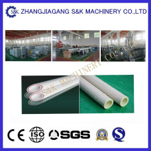 Ligne de production de tuyaux en PVC à double cavité