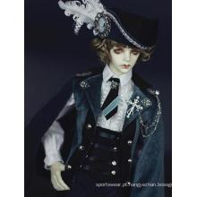 Fato uniforme do Time Traveller Europe para boneca articulada