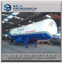 Top Sicherheit Tri-Achse 21t 50000L LPG Tanker Anhänger