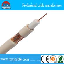 Cable coaxial eléctrico, conductor de cobre puro Cable de comunicación y alambre