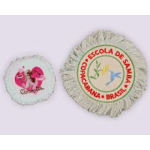 Fringed Embroidered Patches