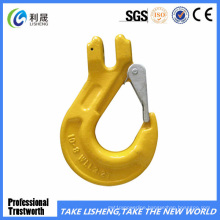 G80 Clevis Slip Hook with Latch