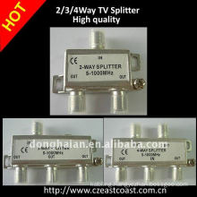 High quality Cable TV Splitter 2/3/4ways