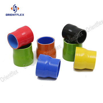 Reinforced resistance multi-function silicone Reducer Hose