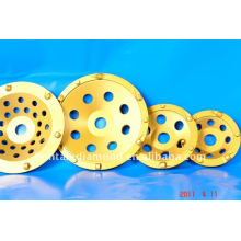 6 PCD cup wheels for coating removal