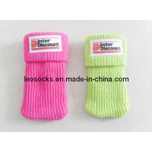 Mobile Phone Socks with PVC Logo