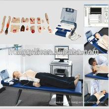 Mannequin de RCR adulte avancé ISO avec AED et Trauma Care Training