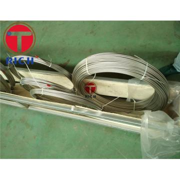 Tabung Penukar Panas Seamless 304 Stainless Steel Coil