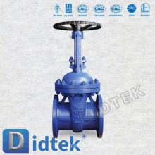 Válvula de puerta asistida resistente Didtek DIN3352