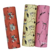 Красочная бумажная упаковка для бальзама для губ в тюбике для губ