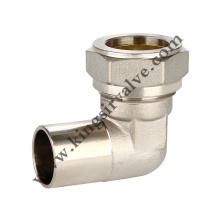 Nickel plating Brass pipe connection