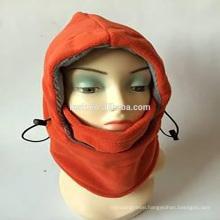 6in1 Fleece winter knit hats and caps ski face mask balaclava