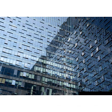 Stahlkonstruktion Glasfassadensystem Design