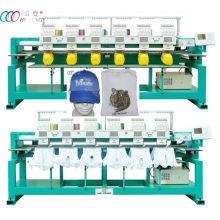 Toalha / vestuário computador 6 cabeças de boné e T-shirt Bordados máquina