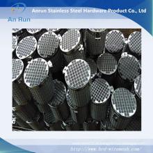 Elément filtrant en métal fritté durable avec mailles métalliques perforées