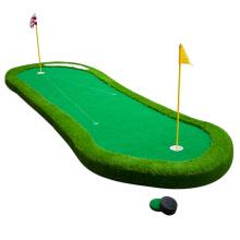 Putting Green de golf realista de bricolaje con base gruesa