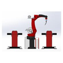 Braço robótico para soldagem a arco